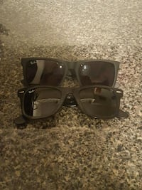 black framed Ray-Ban wayfarer sunglasses Surrey, V3S 0L2