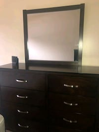 black wooden dresser with mirror Mesa, 85204