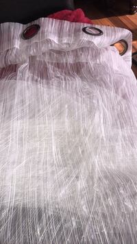 Ultra sheer white curtains Innisfil, L9S 3T6