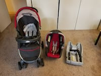 Graco carseat and its base(without stroller)