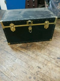 brown and black wooden chest box Baltimore, 21217