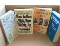 Parenting Books Soft covered $10.00 for all 4 books  Toronto, M2M 2A9