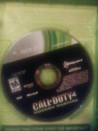 XBOX 360 Call of Duty 4 MW  Broomfield, 80021