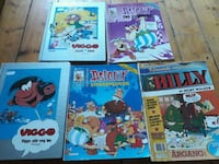 Old comics 1989 5pcs. Ringsaker, 2380