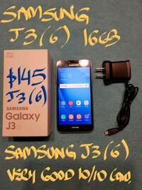 FIRM$145or TRADE SAMSUNG J3 6 16GB 10/10MintCond. Pointe-Claire, H9R