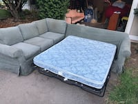 Couch slip covered sectional  Rocklin, 95677