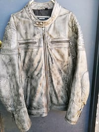 Men's Harley leather jacket