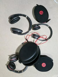 3 Beats headphones