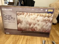 "Samsung - 55"" Class - LED - NU7300 Series - Curved - 2160p - Smart - 4K UHD TV with HDR  Samsung UN55NU7300FXZA  Brand New In Box  Delivery @ Price Atlanta, 30342"