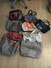 9 purses for