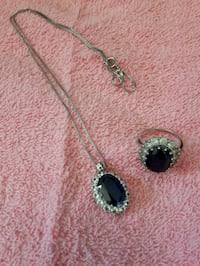 Sapphire necklace Grand Valley, L0N 1G0