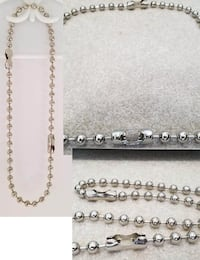 Large Ball and Chain Necklace