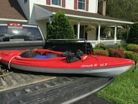 red and white personal watercraft Winfield, 21784