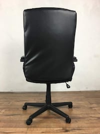 Contemporary Black Leather Upholstered Office Chair (1014221) South San Francisco