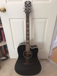 Black Urban cutaway acoustic guitar Pompton Lakes, 07442