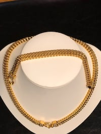 gold-colored chain necklace Rockville, 20852