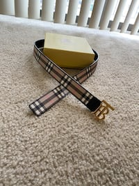 Authentic Burberry Belt  Silver Spring, 20904