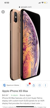 iPhone XS Max 256GB Rose Gold Vancouver, V5P 3K4