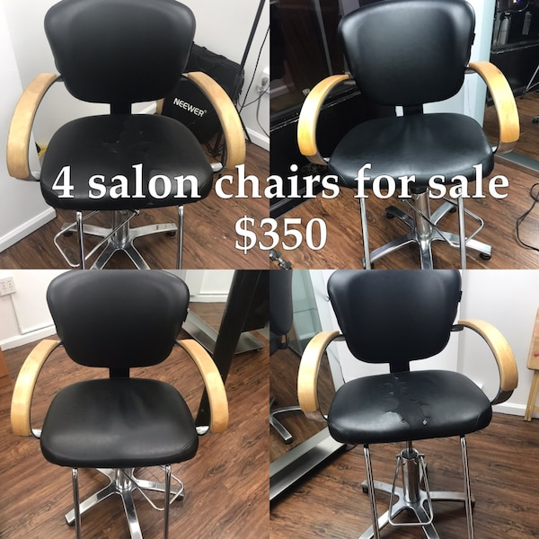 Used Salon Styling Chair For Sale Letgo