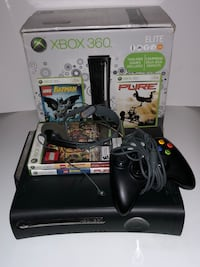 Xbox 360 Elite with 4 games and box  Montréal, H1P