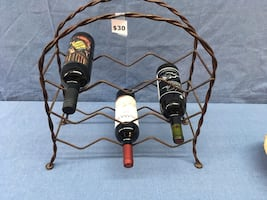 Wine Rack for 9 bottles