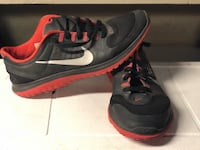 pair of black-and-red Nike sneakers Washington, 20016