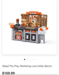 Step2 Pro Play Workshop w/ tools Fairview, 07022
