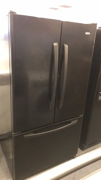 black french-door refrigerator