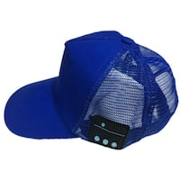 Factory OEM Cotton Trucker Mesh Hats Wireless Headset Earphone Music Phonecall Toronto