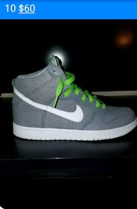 pair of gray-and-green Nike SB sneakers Frederick, 21701