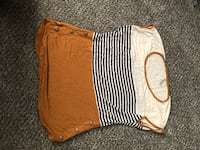 brown and white stripe shorts Bloomington, 55437