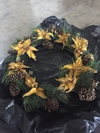 Large gold wreath