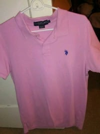 Pink polo size M Sunnyvale, 94086