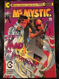 Continuity Comics Ms Mystic #8, March 1992 564 km
