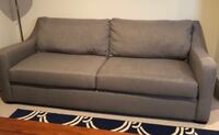gray fabric sofa from Koehler Arlington, 22206