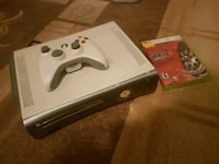 white Xbox 360 console with controller and game case Woodstock, N4S