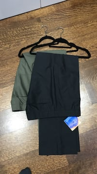 Black and green linden berg golf pants for the pair Toronto, M5M 2C4