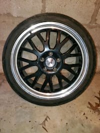 """Pair of 2-18"""" TSW Tremblant w/ Nitto NeoGen Tire Knoxville"""