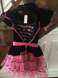 Girls Witch Costume Size 8-10 Vaughan