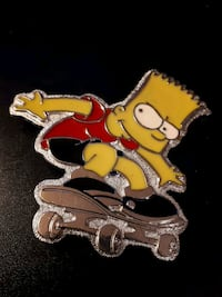 Bart Simpson belt buckle Edmonton, T5S 2B4