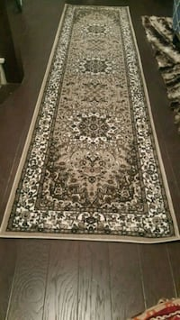 brown and white floral area rug Dallas, 75287