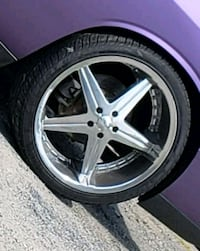 22 inch rims and tires Woodbridge, 22191