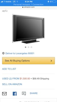 black Samsung flat screen TV screenshot Riverside, 92503