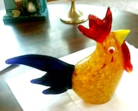 Glass Rooster Paper Weight Nampa, 83687