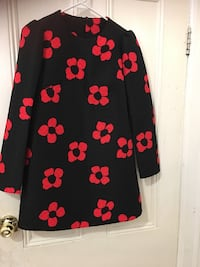 Black and red long sleeves jacket Toronto, M5T 2S3