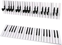 BRAND NEW UNBOXED PIANO KEY COAT HANGER Markham, L3P 7X5