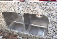 Granite Countertop with double sink