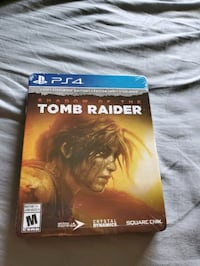Tomb Raider SteelBook Edition PS4