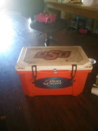 Really good shape Grizzly OSU and Bud Light ice chest