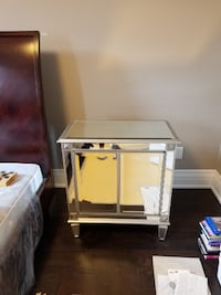 Accent table with storage  TORONTO